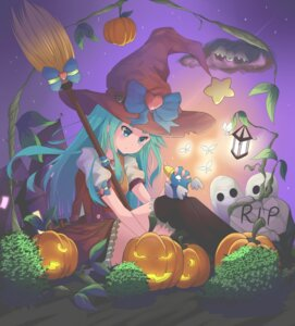 Rating: Safe Score: 29 Tags: dress halloween l4no-shiro shiro_sakamachi thighhighs User: L4No