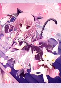 Rating: Safe Score: 59 Tags: animal_ears bell dress lolita_fashion nekomimi tinkerbell tinkle User: midzki