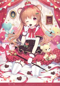 Rating: Questionable Score: 46 Tags: animal_ears stockings thighhighs w.label wasabi_(artist) User: Radioactive