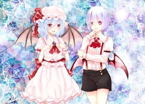 Rating: Safe Score: 8 Tags: genderswap remilia_scarlet touhou wings yutazou User: Mr_GT