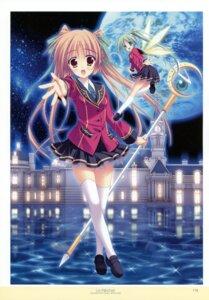 Rating: Safe Score: 13 Tags: amano_satsuki arianrhod fairy hinamatsuri_touko seifuku thighhighs yume_miru_tsuki_no_lunalutia User: crim