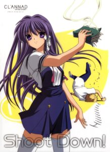Rating: Safe Score: 13 Tags: clannad clannad_after_story fujibayashi_kyou seifuku sunohara_youhei User: sdlin2006