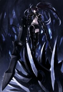 Rating: Safe Score: 36 Tags: black_rock_shooter black_rock_shooter_(character) insane_black_rock_shooter lain thighhighs vocaloid User: Radioactive