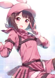 Rating: Safe Score: 46 Tags: hazuki_(hadukistst) kohiruimaki_karen llenn sword_art_online sword_art_online_alternative:_gun_gale_online User: Mr_GT