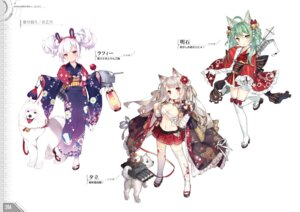 Rating: Questionable Score: 12 Tags: akashi_(azur_lane) animal_ears azur_lane heels kaede_(artist) laffey_(azur_lane) sarashi saru thighhighs yukata yuudachi_(azur_lane) User: Twinsenzw