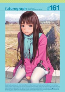 Rating: Safe Score: 25 Tags: digital_version pantyhose range_murata sweater User: nphuongsun93