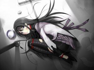 Rating: Questionable Score: 26 Tags: akemi_homura bondage kamata_yuuya pantyhose puella_magi_madoka_magica User: SubaruSumeragi