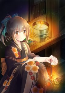 Rating: Safe Score: 54 Tags: kantai_collection serino_itsuki yukata yuubari_(kancolle) User: tbchyu001