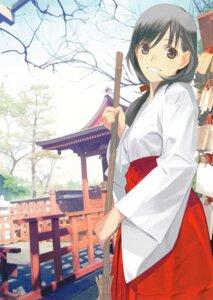 Rating: Safe Score: 19 Tags: mibu_natsuki miko User: fireattack