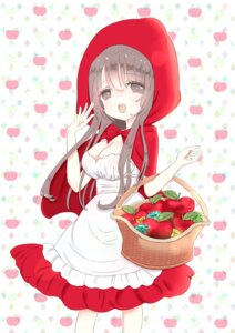 Rating: Safe Score: 11 Tags: cleavage cosplay dress little_red_riding_hood_(character) shiina_melon User: KazukiNanako