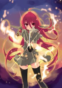 Rating: Safe Score: 31 Tags: ito_noizi seifuku shakugan_no_shana shana sword thighhighs User: charunetra