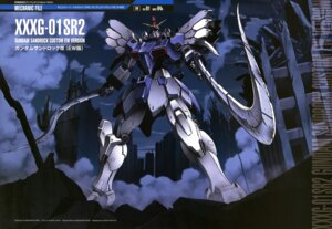 Rating: Safe Score: 12 Tags: gundam gundam_wing mecha shino_masanori sword User: Radioactive