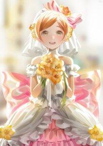 Rating: Safe Score: 15 Tags: dress hoshizora_rin love_live! megumi_cv wedding_dress User: saemonnokami