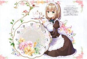 Rating: Safe Score: 31 Tags: breast_hold maid masuishi_kinoto tagme User: kiyoe