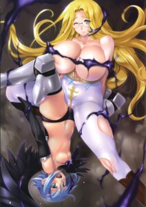 Rating: Questionable Score: 38 Tags: angel areola armor breasts cameltoe cleavage megane melpha nanael pantsu pantyhose queen's_blade queen's_blade_rebellion thighhighs topless torn_clothes tribadism wet wings yuri zundarepon User: Radioactive