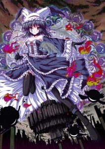 Rating: Safe Score: 21 Tags: dress puella_magi_madoka_magica thighhighs vashaps2 walpurgis_no_yoru User: itsu-chan