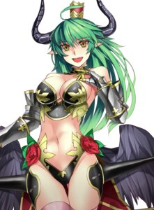 Rating: Questionable Score: 33 Tags: armor asmodeus_(shinrabansho) bikini_armor cleavage horns pointy_ears sensei_(hitagi3594) shinrabansho thighhighs wings User: Radioactive