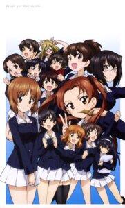 Rating: Questionable Score: 24 Tags: akiyama_yukari animal_ears caesar girls_und_panzer isobe_noriko isuzu_hana kadotani_anzu kawashima_momo koyama_yuzu megane nakajima_(girls_und_panzer) nekomimi nekonyaa nishizumi_miho reizei_mako sawa_azusa sono_midoriko sugimoto_isao takebe_saori thighhighs uniform User: drop