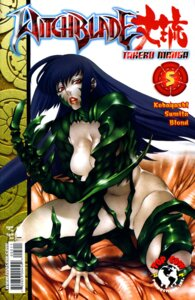 Rating: Questionable Score: 5 Tags: armor cleavage ibaraki_takeru sumita_kazasa thighhighs top_cow_productions witchblade witchblade_takeru User: Davison