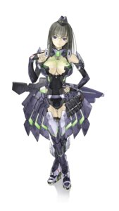 Rating: Questionable Score: 46 Tags: bodysuit cleavage mecha_musume megane nakaba_reimei phantasy_star phantasy_star_online thighhighs User: Kaixa