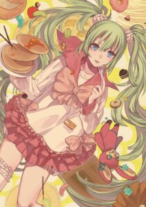 Rating: Safe Score: 25 Tags: hatsune_miku lots_of_laugh_(vocaloid) noco thighhighs vocaloid User: fireattack