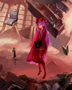 Rating: Safe Score: 6 Tags: hei_(qijuzi) koakuma patchouli_knowledge touhou wings User: charunetra