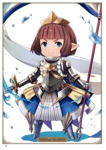 Rating: Questionable Score: 3 Tags: armor ayt bridgette_(granblue_fantasy) chibi granblue_fantasy User: Twinsenzw
