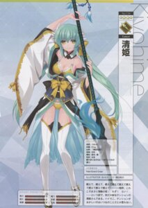 Rating: Safe Score: 20 Tags: bikini black cleavage cropme fate/grand_order horns japanese_clothes kiyohime_(fate/grand_order) open_shirt profile_page swimsuits thighhighs weapon User: Radioactive