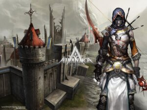 Rating: Safe Score: 7 Tags: atlantica_online landscape male wallpaper User: the658