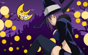 Rating: Safe Score: 11 Tags: blair soul_eater thighhighs vector_trace wallpaper User: gohanrice