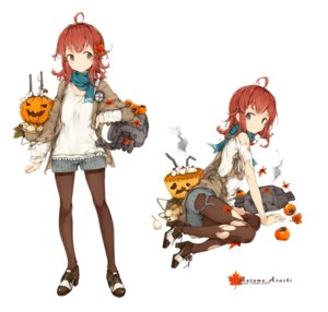 Rating: Safe Score: 31 Tags: arashi_(kancolle) ass halloween heels kantai_collection malachite pantyhose torn_clothes User: Mr_GT