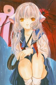 Rating: Safe Score: 17 Tags: chii chobits clamp seifuku User: Aurelia