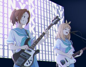 Rating: Safe Score: 14 Tags: guitar hasisisissy hibike!_euphonium nakagawa_natsuki seifuku yoshikawa_yuuko User: Dreista