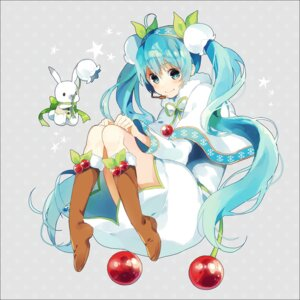 Rating: Safe Score: 37 Tags: dress hatsune_miku vocaloid yuki_miku yuya_kyoro User: charunetra