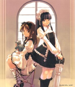 Rating: Safe Score: 15 Tags: dress gothic_lolita hirano_katsuyuki idea_factory lolita_fashion saitou_koyuki steady_x_study usui_haruka User: Radioactive
