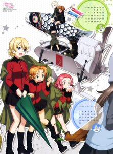 Rating: Safe Score: 17 Tags: calendar clara_(girls_und_panzer) darjeeling girls_und_panzer heels itou_takeshi katyusha mika_(girls_und_panzer) nina_(girls_und_panzer) nonna orange_pekoe rosehip umbrella uniform User: drop
