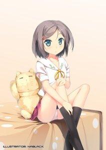 Rating: Questionable Score: 60 Tags: hentai_ouji_to_warawanai_neko nablack pantsu seifuku tsutsukakushi_tsukiko User: NABLACK