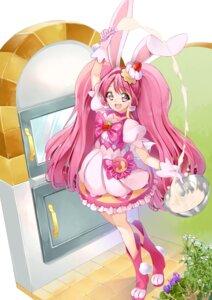 Rating: Safe Score: 10 Tags: animal_ears bunny_ears dress kirakira_precure_a_la_mode pretty_cure tail usami_ichika yuutarou_(pixiv822664) User: Mr_GT