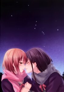 Rating: Safe Score: 64 Tags: fukahire_sanba ruinon seifuku yuri User: donicila