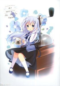 Rating: Safe Score: 64 Tags: dress gochuumon_wa_usagi_desu_ka? kafuu_chino koi User: fireattack