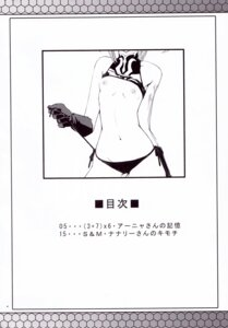 Rating: Questionable Score: 9 Tags: anya_alstreim code_geass monochrome mutsuki_ginji nipples no_bra pantsu shirt_lift string_panties undressing zi User: MirrorMagpie