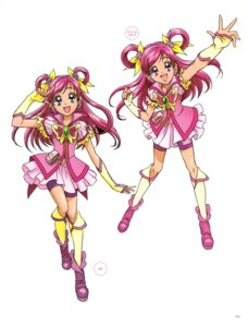 Rating: Questionable Score: 5 Tags: kawamura_toshie pretty_cure yes!_precure_5 yumehara_nozomi User: drop