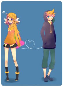 Rating: Safe Score: 10 Tags: kagamine_len kagamine_rin temari_(artist) vocaloid User: charunetra
