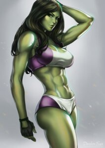 Rating: Questionable Score: 18 Tags: cleavage dandon_fuga marvel she-hulk signed User: NotRadioactiveHonest