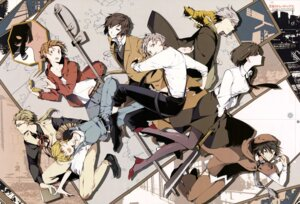 Rating: Safe Score: 15 Tags: bungou_stray_dogs heels megane neko pantyhose weapon User: drop