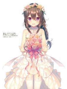 Rating: Questionable Score: 41 Tags: dress kokoro_(takei_ooki) stockings tagme takei_ooki thighhighs ties wedding_dress User: kiyoe