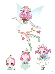 Rating: Safe Score: 5 Tags: dress haa-chan_(precure) mahou_girls_precure! pretty_cure tagme wings User: drop