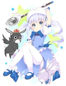 Rating: Safe Score: 61 Tags: blue_gk gochuumon_wa_usagi_desu_ka? kafuu_chino pantyhose tippy_(gochuumon_wa_usagi_desu_ka?) User: Mr_GT