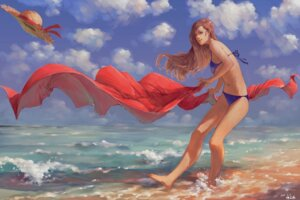 Rating: Safe Score: 23 Tags: bikini feet swimsuits underboob wet zennosuke User: charunetra