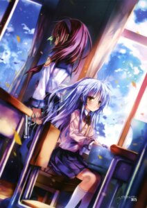 Rating: Safe Score: 63 Tags: angel_beats! seifuku shino_(eefy) tenshi yurippe User: SubaruSumeragi